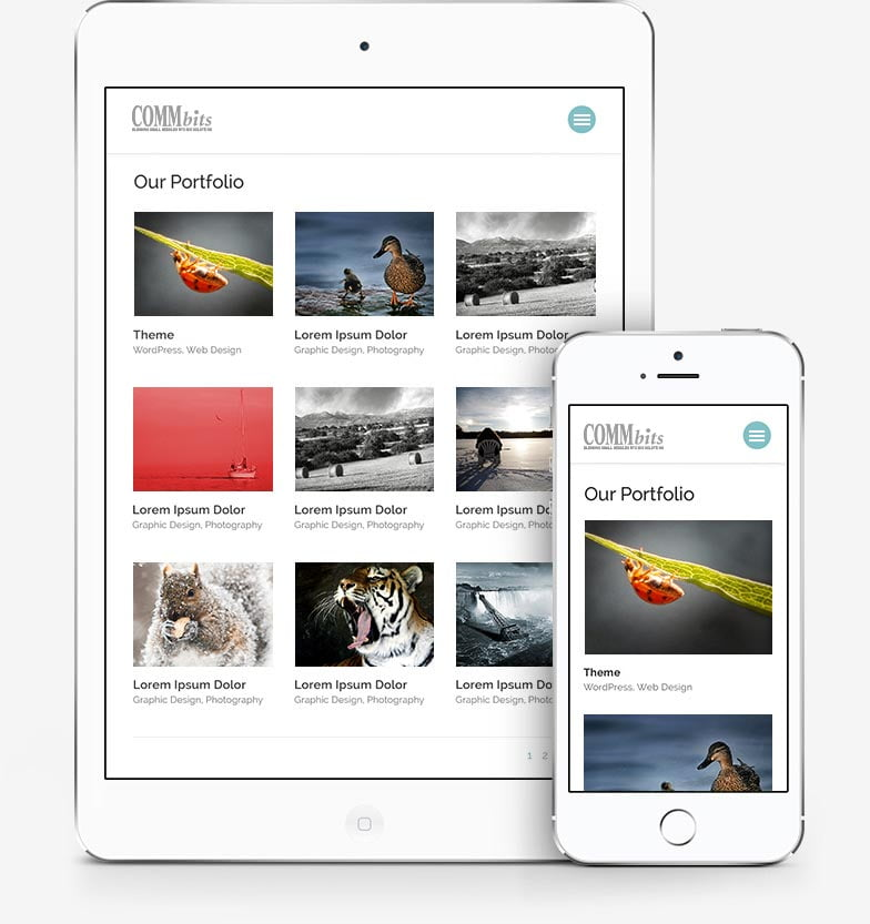 Responsive content - we build smart microsites for tablets and smartphones too